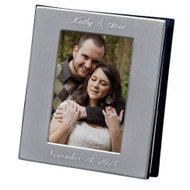 Engraved Silver Anniversary Photo Album