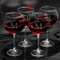 Personalized Red Wine Glasses, set of four