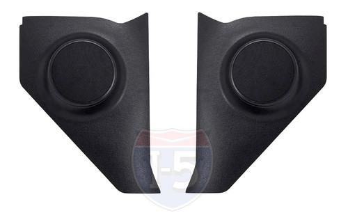 """57 1957 Chevy Chevrolet Car Kick Panel Speaker Housings witr 6-1/2"""" 100 watt Speakers"""