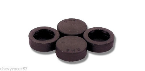 55 56 57 CHEVY HARDTOP & CONVERTIBLE UPPER WINDOW GLASS RUBBER STOPS