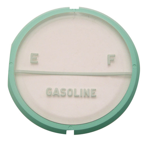 57 1957 CHEVY GAS FUEL LENS PLASTIC GAUGE FACE