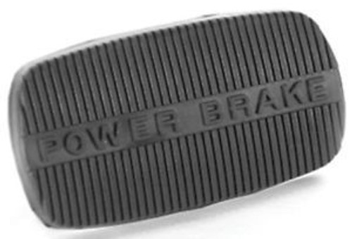 58 - 65 CHEVY IMPALA & 62 - 67 NOVA POWER BRAKE RUBBER PEDAL PAD AUTOMATIC
