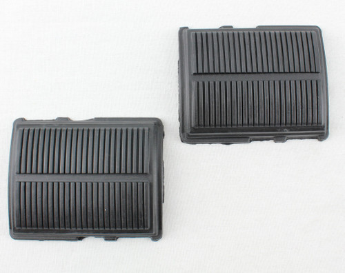 65 66 67 68 69 70 CHEVY IMPALA CLUTCH BRAKE PEDAL RUBBER PADS PAIR