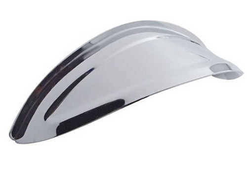 "7"" Headlight Headlamp Bulb Chrome Trim Cover Shield Visor For Motorcycle Chopper"