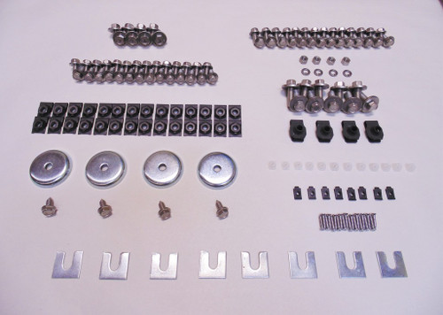 68-72 Chevy Malibu Chevelle El Camino Stainless Front End Sheetmetal Bolt Kit