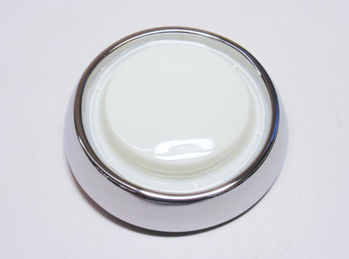 55 56 57 58-67 Chevy LED Interior Dome Light Lens Housing Chrome Bezel Assembly
