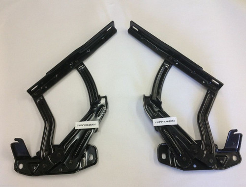 65 66 67 Chevelle El Camino New Hood Hinges Pair 1965 1966 1967