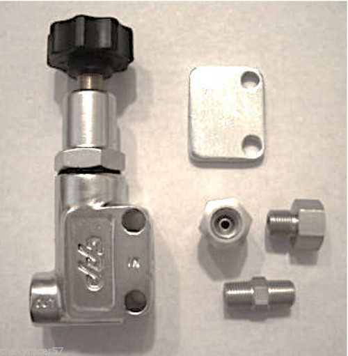 CPP Disc Brake Adjustable Proportioning Valve For Wilwood Baer SSBC New