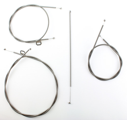 57 CHEVY CHEVROLET HEATER AND FRESH AIR VENT CONTROL CABLES SET