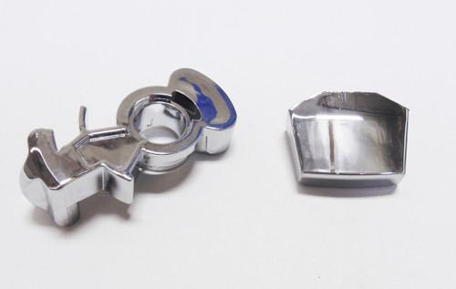 Chrome 15 Speed Shifter Splitter Button & Range Selector Cover Eaton Fuller