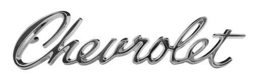 69 1969 Chevy Bel Air & Biscayne Chevrolet Hood Emblem Script Trim Parts USA