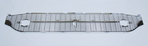 57 1957 Chevy 210 150 BelAir Silver * CHROME * Front Grille with Grill Bar Hole
