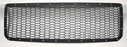 15 16 17 GMC Canyon Custom Black Mesh Aluminum 1-Piece Grille with Stainless Bolts