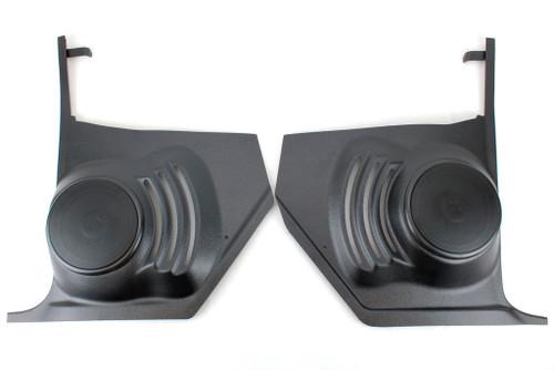 64 65 66 Chevy Chevelle El Camino Kick Panel Housings with 100 Watt Speakers NO AIR