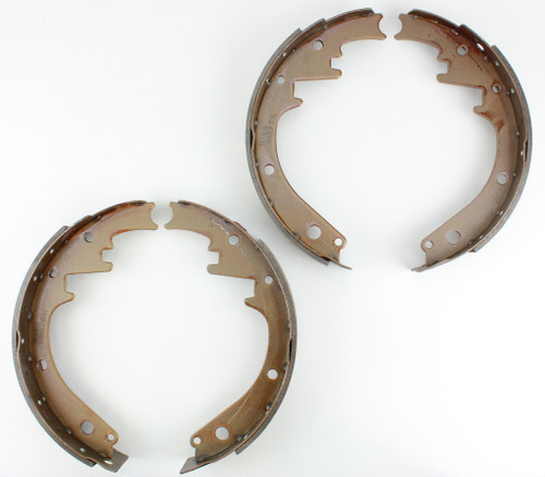 55 56 57 58 Chevy Heavy Duty Riveted Front Drum Brake Shoes 1955 1956 1957 1958