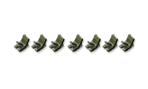 55 56 57 CHEVY FUEL GAS BRAKE LINE FRAME CLIPS SET OF 7