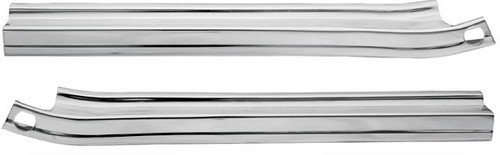 65 1965 CHEVELLE & EL CAMINO LOWER GRILL TRIM MOLDINGS