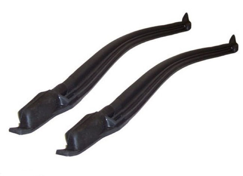 66 67 CHEVELLE CONVERTIBLE PILLAR POST RUBBER SEALS WEATHERSTRIPPING PAIR