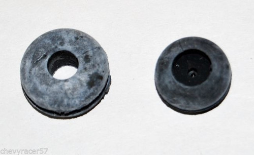 57 1957 CHEVY LICENSE PLATE LIGHT WIRING GROMMETS