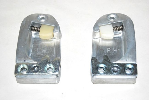 55 56 57 58 59 60 CHEVY BUICK CADILLAC DOOR LATCH STRIKERS NEW