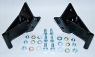 "55 56 57 CHEVY SIDE 3/4"" FORWARD ENGINE MOTOR MOUNTS FOR SEAMLESS FRAME"