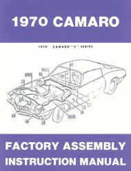 70 CHEVY CAMARO FACTORY ASSEMBLY MANUAL BOOK 1970