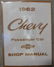 62 63 64 CHEVY II NOVA FACTORY REPAIR SHOP MANUAL BOOK 1962 1963 1964