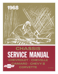 68 CHEVY CHEVELLE IMPALA NOVA CORVETTE CHASSIS SERVICE SHOP MANUAL 1968