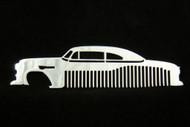 53 54 Chevy 150 210 Bel Air Sedan Polished Stainless Steel Metal Trim Beard Hair Mustache Comb