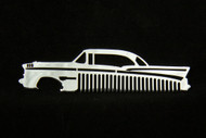 57 1957 Chevy 210 Bel Air Polished Stainless Steel Metal Trim Beard Hair Mustache Comb
