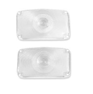 56 1956 CHEVY GUIDE PARK LIGHT LENS PAIR