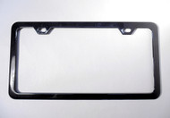 14-17 Chevy Corvette C7 Z06 License Plate Frame Carbon Flash Metallic Black 50 State Legal