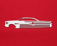 60 Chevy Bel Air Biscayne Impala Brushed Stainless Steel Metal Trim Beard Hair Mustache Comb