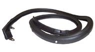 66 67 CHEVELLE CONVERTIBLE TOP HEADER WEATHERSTRIP RUBBER SEAL NEW