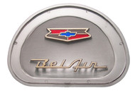 57 1957 CHEVY BEL AIR STEERING WHEEL HORN CAP EMBLEM