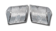 56 1956 CHEVY GUIDE REAR BACK UP LIGHT CLEAR LENS LENSES