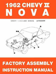 62 NOVA FACTORY ASSEMBLY INSTRUCTION MANUAL 1962