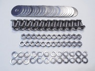 47-66 Chevy GMC Truck STAINLESS Stepside Rear Fender PHILLIPS Head Bolt 96pc Kit