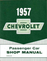 57 1957 CHEVY PASSENGER CAR SHOP MANUAL