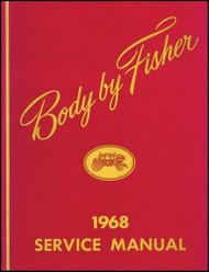 68 IMPALA CHEVELLE NOVA FISHER BODY SHOP MANUAL