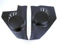55 1955 56 1956 Chevy Chevrolet Car Kick Panel Speaker Housings 100watt Speakers