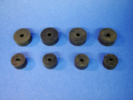 55 56 57 CHEVY FRONT ENGINE MOUNT RUBBER DONUT SET