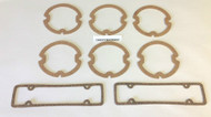 61 CHEVY IMPALA BEL AIR BISCAYNE PARK & TAIL LENS GASKET SET 1961