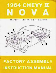 64 NOVA FACTORY ASSEMBLY INSTRUCTION MANUAL BOOK