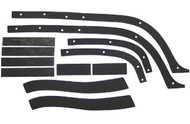 57 CHEVY FRONT FENDER to INNER FENDER ANTI SQUEAK RUBBER KIT 1957