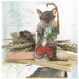 Prof. MacCrumbs Steampunk Art Bookmark