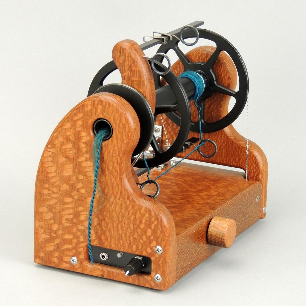 Beautiful Lacewood HansenCrafts miniSpinner v2.