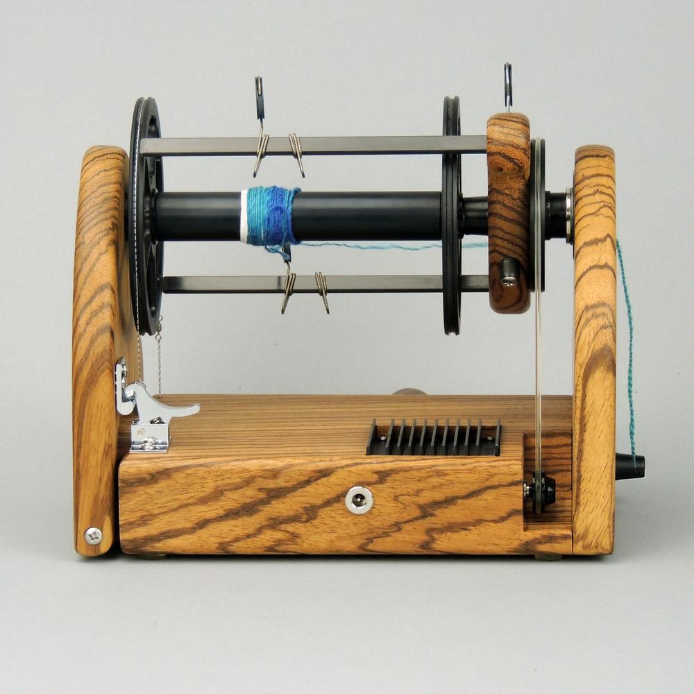 Zebrawood miniSpinner v2