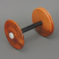 Tigerwood WooLee Winder bobbin.