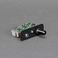 The HansenCrafts v2 speed control board features a LED push button to start, stop, and change direction!
